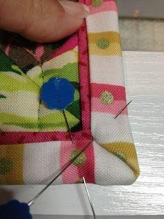 Double binding * sehr schöner Finish an einem hektischen Teil, aber nicht ganz einfach