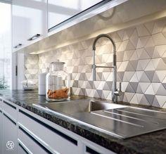 Octane (PT, samples, 3 hours per image on TitanX), Photoshop. Bread model is from Scenected Kitchen Room Design, New Kitchen Designs, Kitchen Cabinet Design, Home Decor Kitchen, Interior Design Kitchen, Modern Kitchen Tiles, Kitchen Modular, Modern Kitchen Interiors, Smart Kitchen
