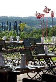 "Hôtel Spa ""La Grée des Landes Restaurant  ""Les Jardins Sauvages"" Morbihan, Bretagne Yves Rocher, Outdoor Furniture Sets, Outdoor Decor, Home Decor, Gardens, Savages, Brittany, Decoration Home, Room Decor"