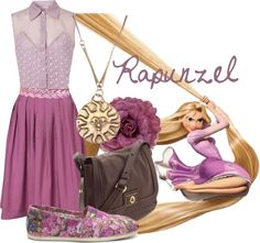 """Rapunzel"" by jami1990 ❤ liked on Polyvore"