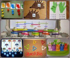 Un conjunto de actividades con la que los alumnos/as podrán repasar los números naturales.