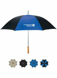 """48"""" Umbrella - Don't get caught in the rain without one of these.  Choose from multiple available colors. #promoproducts #buildyourbrand www.spencergear.com"""