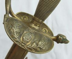 Antique Spanish Colonial Empire Officer s Sword-1867 - Field Service Antique Arms