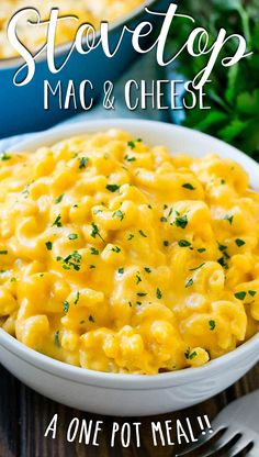 This stovetop mac and cheese is a one pot dish of tender macaroni in an ultra creamy cheese sauce. Good Macaroni And Cheese Recipe, Mac And Cheese Sauce, Stovetop Mac And Cheese, Easy Mac And Cheese, Mac And Cheese Homemade, Macaroni Cheese, Creamy Cheese, Pasta Cheese, Homemade Pasta