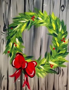 We host painting events at local bars. Come joi… Paint Nite. We host painting events at local bars. Come join us for a Paint Ni bars drink events host joi local Nite paint painting party winterbuck Winter Painting, Diy Painting, Painting On Wood, Easy Canvas Painting, Christmas Art, Christmas Wreaths, Christmas Ideas, Christmas Paintings On Canvas, Holiday Canvas