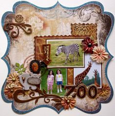 zoo LO in shabby-chic - not so easy!