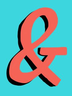 A blog dedicated to the many incarnations of the Ampersand.  I love it.