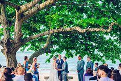 Tegan & Des | The Villa on the Beach, Yeppoon Wedding