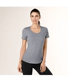 workout tee | lucy activewear