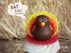 With Thanksgiving just around the corner, it can only mean one thing: It's turkey time! Follow the simple step-by-step instructions to create a sweet turke