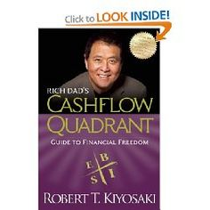 Divides people by the type of income they predominantly make. Great read. Ignore all the others that were written after this book. Also I would ignore his advice about network marketing, it's a scam IMO.