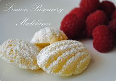 Rosemary Lemon Madeleines