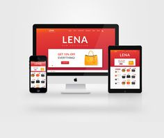 """Check out this @Behance project: """"LENA Fashion"""" https://www.behance.net/gallery/33836182/LENA-Fashion"""