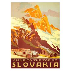 Slovakia print on leather Personalised Scrapbook, Leather Wall, Leather Tooling, Leather Anniversary Gift, Leather Photo Albums, Leather Bound Journal, Ski Posters, Vintage Travel Posters, Vintage Art