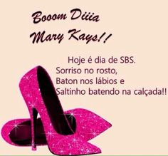 bom dia mk Maquillage Mary Kay, Mary Kay Brasil, Mary Kay Ash, Younique, Christian Louboutin, Makeup, Pink, Mary Kay Lipstick, Mary Kay Products