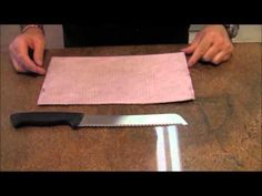 One of the knives we use most in the kitchen is a serrated knife of one kind or another. In this video I show you how to sharpen a serrated knife. Knife sharpening is easy to learn and apply. It just takes some practice. So if you have some serrated knives laying around that are dull here is your ticket to getting them sharp again! Enjoy!