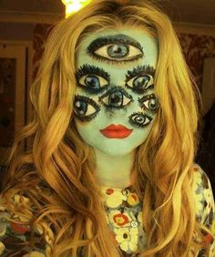 Halloween Horror Makeup Looks and Ideas 12