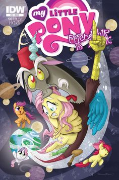Equestria Daily: Jetpack Comics Halloween Exclusive Variant, Plus Normal Cover Art to Go With It My Little Pony Comic, Fluttershy, Discord, Mlp Comics, Young Avengers, My Little Pony Merchandise, Scott Pilgrim, Apple Books, My Little Pony Friendship