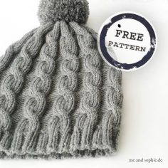 simple cable hat for children and adults . simple cable hat for children and adults More Record of Knitting Yarn spinning, weaving and sewing jobs such as for exam. Free Sewing, Free Knitting, Baby Knitting, Knitting Yarn, Knitted Blankets, Knitted Hats, Knitting Projects, Crochet Projects, Knitting Patterns