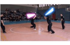 Italian Lightsaber Academy Will Teach You How to Fight Like a Real Jedi (or Sith) Lightsaber Fight, Self Defense Moves, Sword Fight, Planet Of The Apes, Sith, Starwars, Weapons, Video Games, Empire