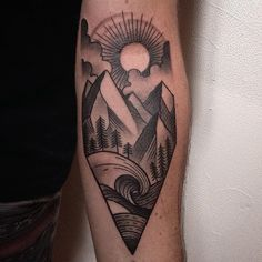 60 Spectacular Mountain Tattoo designs and ideas for All Ages