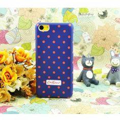 Cath Kidston Mini Dot Case for iPhone 5C - Purple