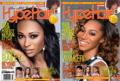 Hype Hair Unveils Double Cover Featuring Cynthia Bailey and 2014 Model Search Winner Black Hair Magazine, Cynthia Bailey, Hype Hair, Black Weave, African American Hairstyles, Spring Fashion, Natural Hair Styles, Nice Things, Sexy