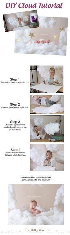 Fun DIY Cloud Tutorial (takes less than 20 minutes!) - themilkway.ca