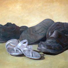 John Pacer Artwork Love, 2009 Oil Painting, Still Life