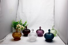 Glass Candy Jar Collection