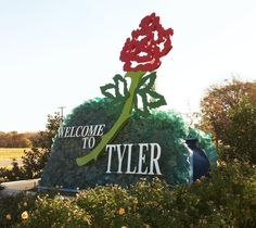 Welcome to Tyler Texas... And I LOVE Tyler TX... Visit often :)