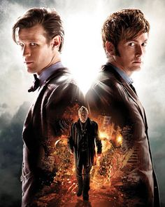 """Poster for DOCTOR WHO's 50th Anniversary Special """"The Day of the Doctor"""""""