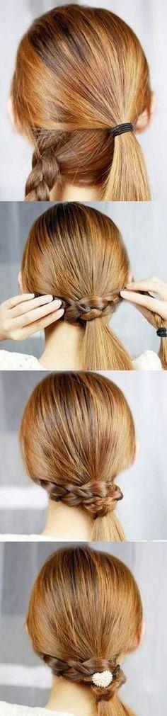 easy Hairstyle tutorial  -girl hair styles