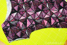 Triko s přinechaným rukávem (střih a návod) – Caramilla.cz Clothes, Outfits, Clothing, Kleding, Outfit Posts, Coats, Dresses
