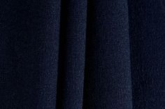 Navy Blue Wool Knit (Made in Italy)
