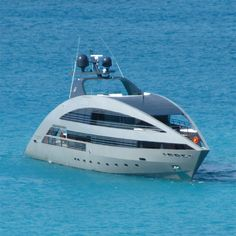 """I want to cruise on this: """"Russian yacht pic taken on Anguilla. Yacht is called """"Ocean Emerald""""."""""""