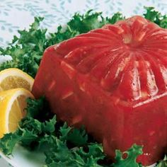 Best Rosy Rhubarb Salad -- rhubarb, raspberry jello, lemon juice, pineapple juice, apples (prob would leave out the celery pecans). Fun change for Thanksgiving? Jello Recipes, Veggie Recipes, Sweet Recipes, Salad Recipes, Jello Desserts, Veggie Food, Raspberry Jello Salad, Jello Fruit Salads, Strawberry Jello