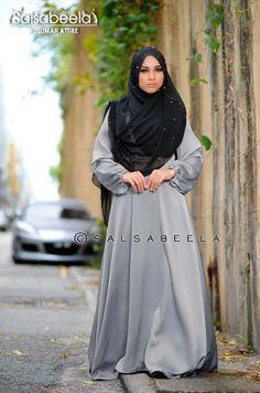 Muslimah Grey Dress