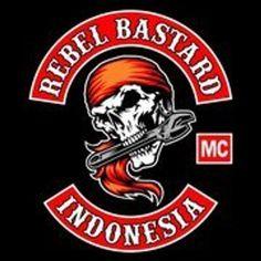 Rebel Bastard MC Outlaws Motorcycle Club, Motorcycle Logo, Motorcycle Clubs, Bike Gang, Biker Clubs, Biker Vest, Hells Angels, Nose Art, Biker Style