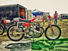 Norton Dirt Track #15x Atherton Bike | by motocroquis