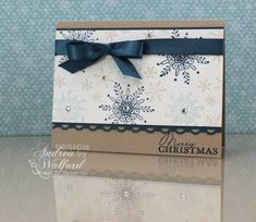 Serene Snowflake Card by aswalford - Cards and Paper Crafts at Splitcoaststampers