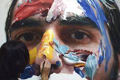 Los increíbles autorretratos hiperrealistas de Eloy Morales | FuriaMag | Arts Magazine