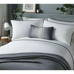 Buy Serene Pom Pom Grey Bedding Set - Superking at Argos.co.uk - Your Online Shop for Duvet cover sets, Bedding, Home and garden.