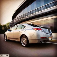 You may not know what is around the bend, but that's ok; we like the unexpected | the #2010 #acuratl #shawd | #acura #tl #tbt #throwbackthursday #acurafans #acuranation #teamacura #acuradays #jdm #instacar #rallyeacura