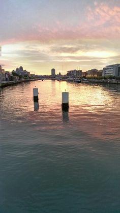 Dublin #pink #dublin #ireland