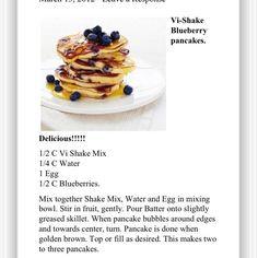 Vi-Shake Pancakes