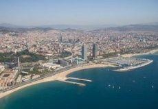 Vuelo en helicóptero sobre el litoral de Barcelona
