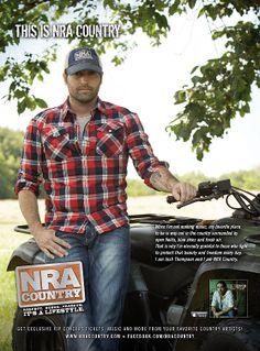NRA Country artist Josh Thompson