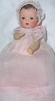 "RARE 9"" 1950s Effanbee Dy-Dee doll"