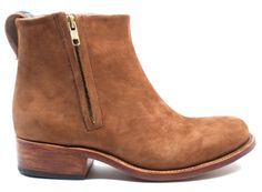 Brown Suede Boot - An essential, all-season style for any wardrobe.